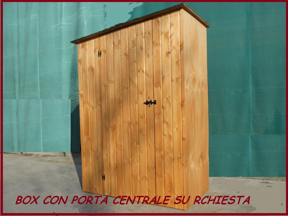 Ricovero attrezzi da giardino in legno casetta casa - Box da giardino ...