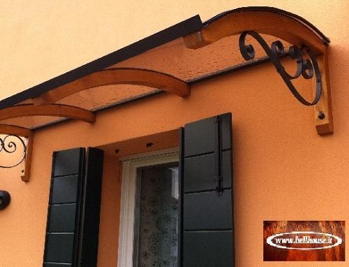 Novit pensilina ricciolo top pensiline policarbonato ebay - Pensiline ingresso casa ...