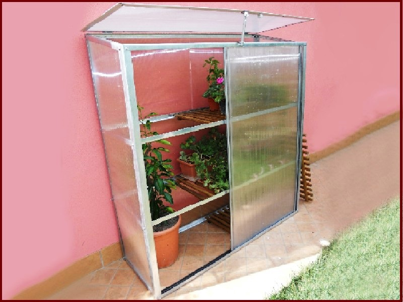 Serra serre policarbonato giardino terrazzo balcone ort ebay for Serre da giardino policarbonato