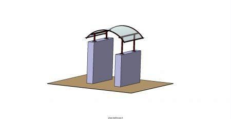 Copri cancello Alba