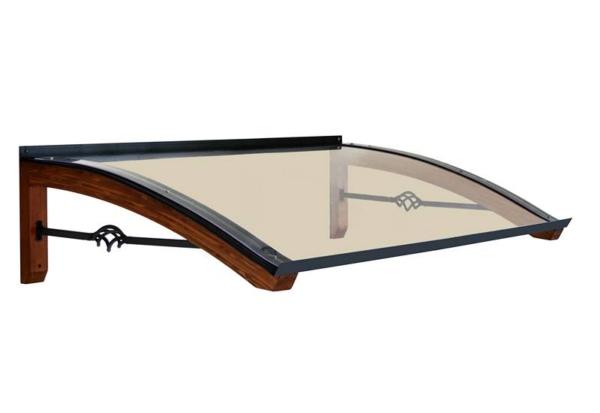 Pensilina in legno modello Legno-Pigna