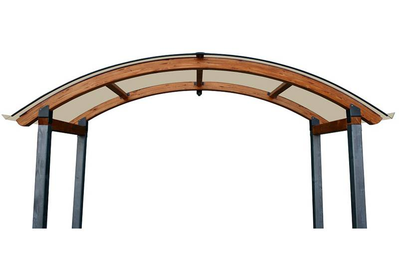Copri cancello Alba-Legno