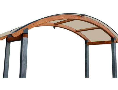 Copri cancello legno Alba-Legno