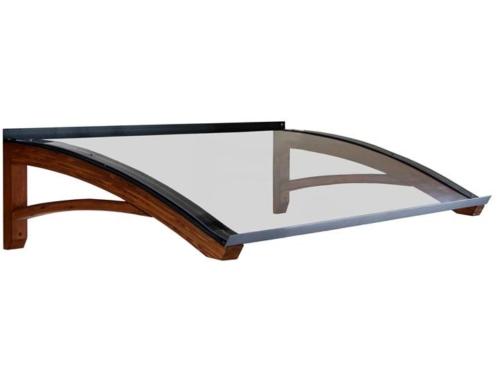 Pensilina in legno modello Legno-Onda