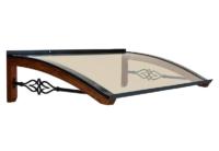 Pensilina in legno modello Legno-Stella