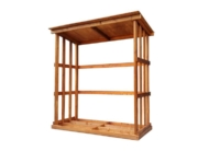 Porta legna standard