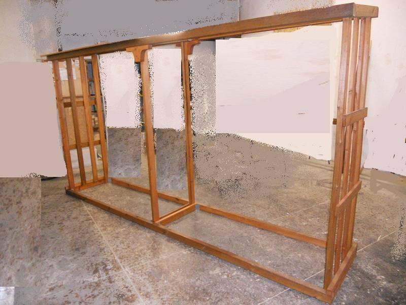 Porta legna su misura
